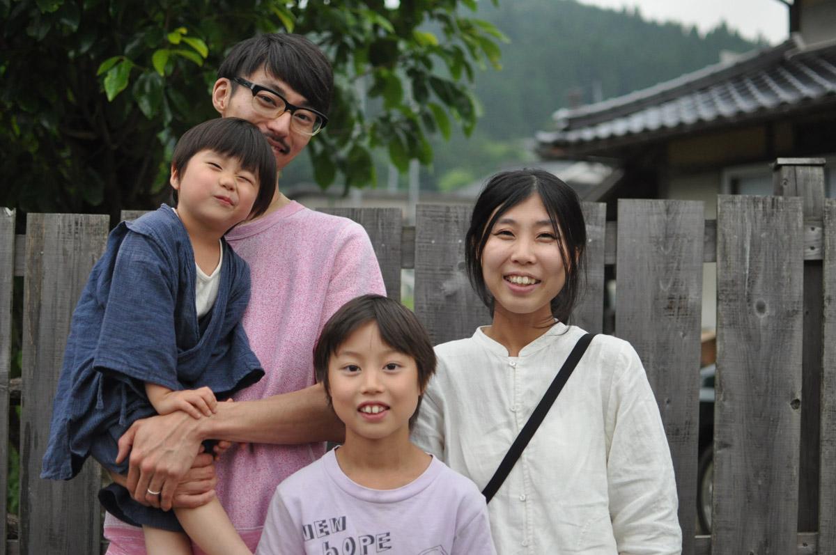 田舎暮らし|移住者のリアルボイス|鈴木家ポートレート
