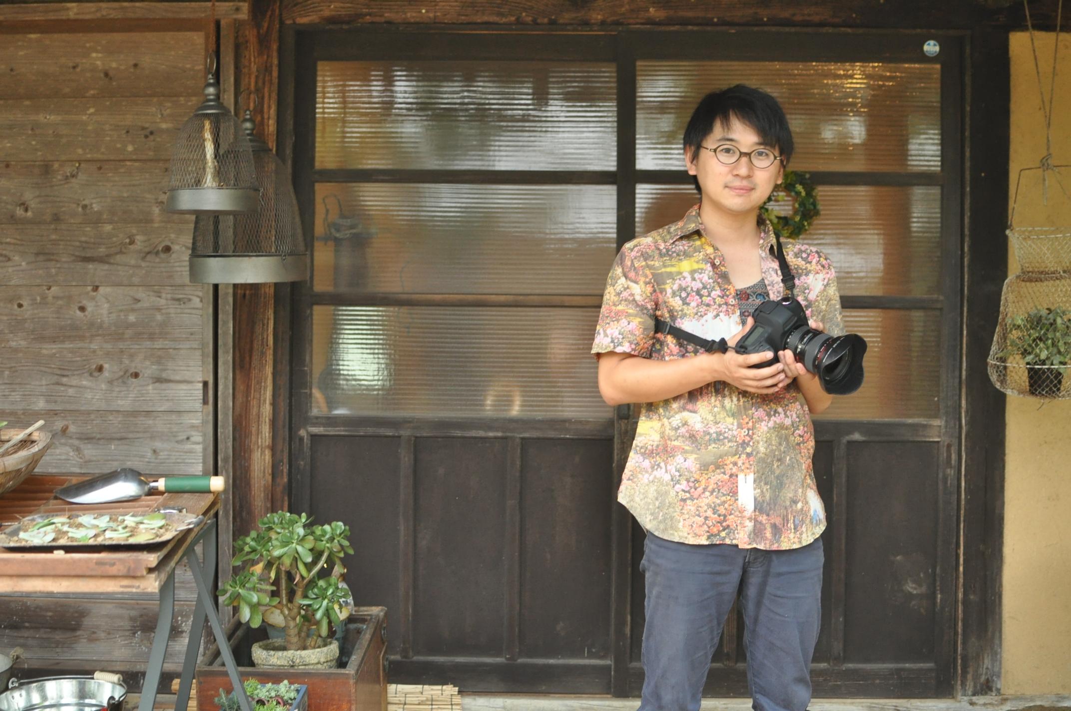 田舎暮らし|移住者のリアルボイス|赤星賢太郎ポートレート