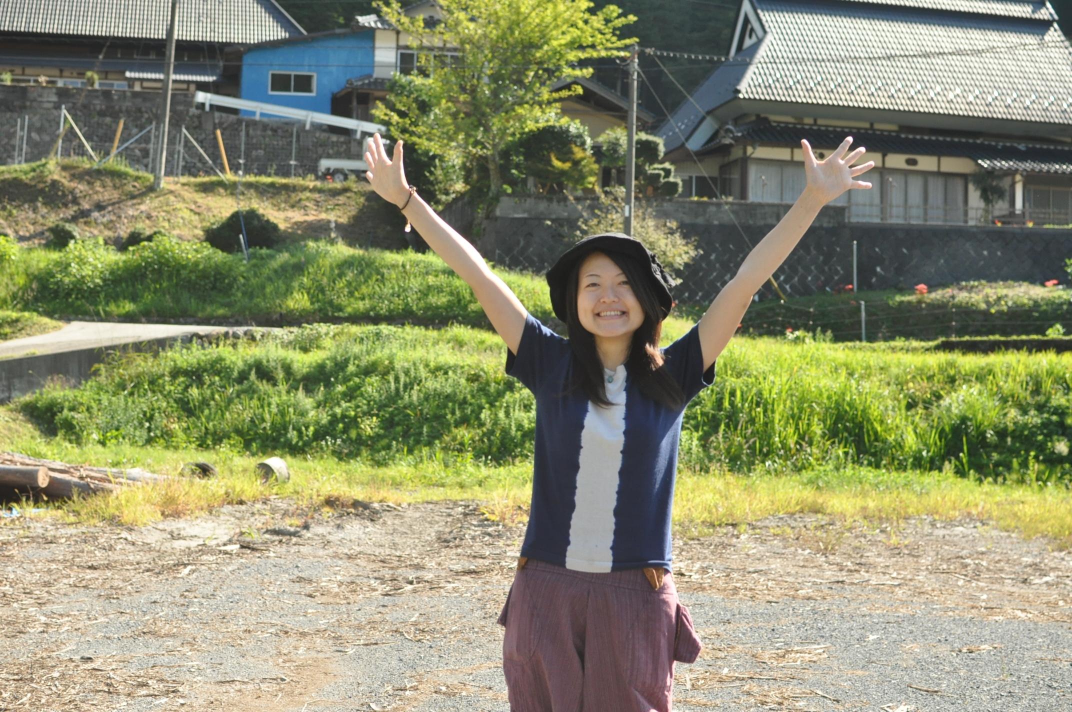 田舎暮らし|移住者のリアルボイス|川野茜ポートレート