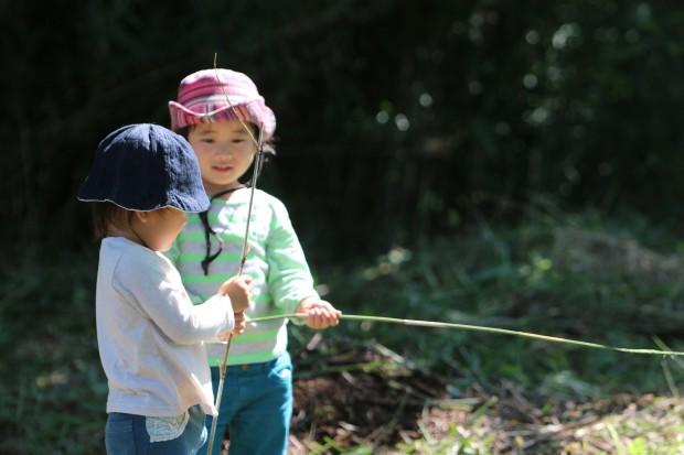 くるみっこ 田舎 岡山 自主保育 自然 プレーパーク