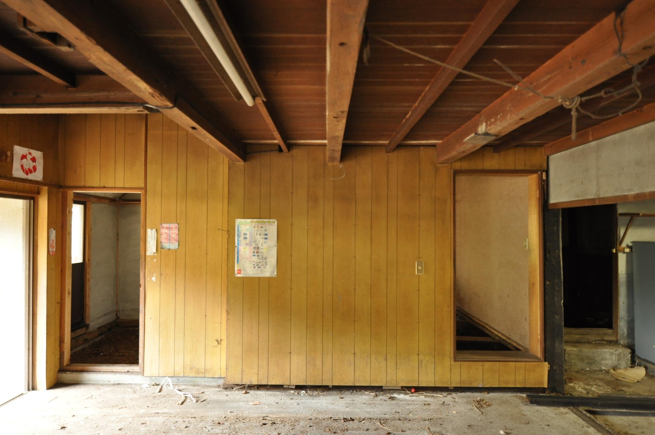 築200年の古民家、壁を壊す!!|ビフォア